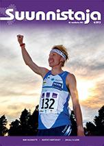 Suunnistaja 6/2013, (ilm. 9.8.) Poimintoja sisällöstä: MM-kisapaketti, Nuorten MM-kilpailut, Piirustuskilpailu satoa, Neulansilmässä maanmittauksen historia