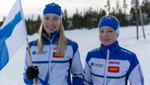 Parhaat suomalaiset Veera Klemettinen ja Liisa Nenonen.