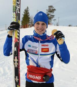 Aleksi Karppinen ja nuorten MM-kulta.
