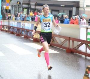 Jenny Patana oli Huippuliiga-sprintin ykkönen Loviisassa.