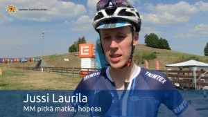 Video: Jussi Laurilalle MM-hopeaa