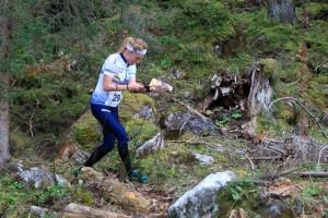 Sofia Haajanen oli paras suomalainen perjantain maailmancupin osakilpailussa. Kuva: Erik Borg.