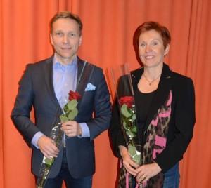 Timo Ritakallio (vas.) valittiin perjantaina Helsingissä Suunnistusliiton puheenjohtajaksi väistyvän Kirre Palmin jälkeen.