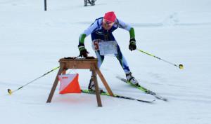 Sanni Oikkonen otti sunnuntaina voiton nuorten maaottelussa.