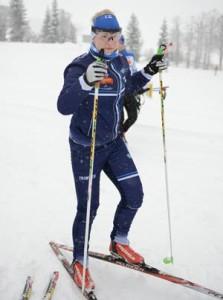 Mirka Suutari on Suomen EM-joukkueen nuorin.