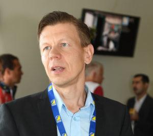 Mikko Salonen on IOF:n uusi varapuheenjohtaja.