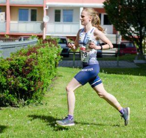 Sari Anttonen oli kevään EM-sprintissä seitsemäs. Kuva: Paula Lehtomäki.