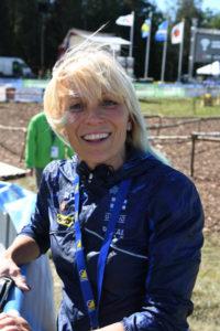 Katja Mjösund toimi Suomen joukkueenlääkärinä MM-kisoissa Ruotsissa.