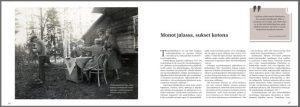 Orienteerausta ja oijustutsa -kirja sisältää runsaasti aiemmin julkaisemattomia valokuvia ja karttoja suunnistuksen varhaisvaiheista.