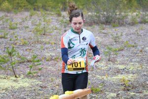 Emily Kemp otti Hämeenkyrössä ensimmäisen SM-kultamitalinsa.